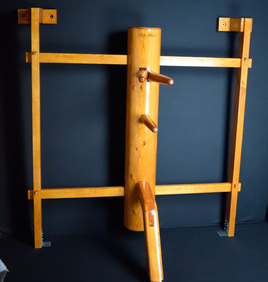 wall mounted ipman wooden dummy 2