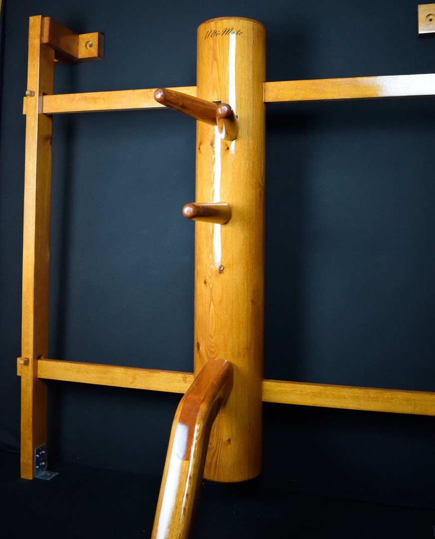 wall mounted ip man wooden dummy 1