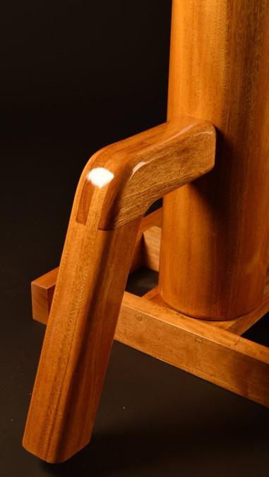portable freestanding wing chun wooden d