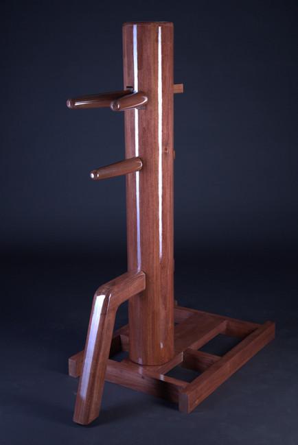 freestanding wing chun wooden dummy