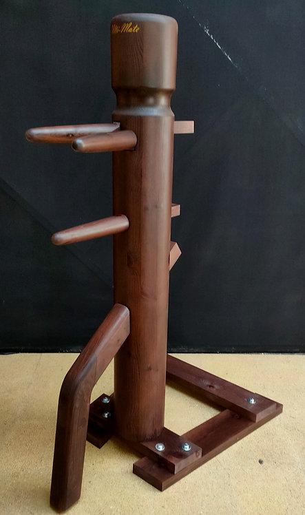 Standard Freestanding JKD Wooden Dummy - Walnut