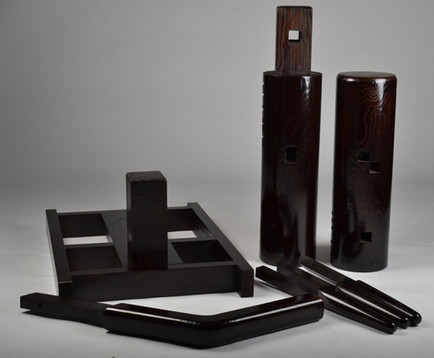 Portable ip man freestanding wooden dumm