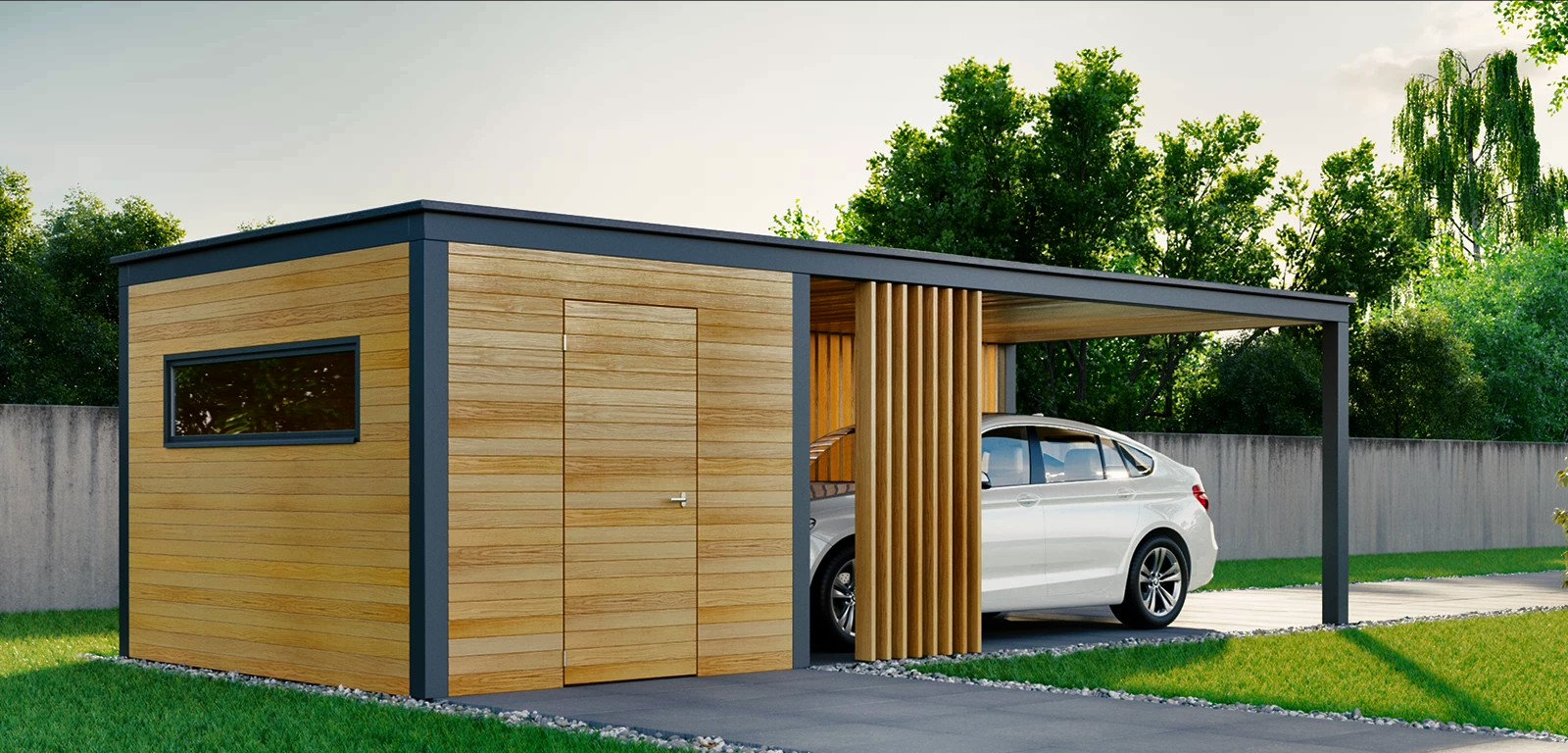 Carport- Wiata garażowa CP-800