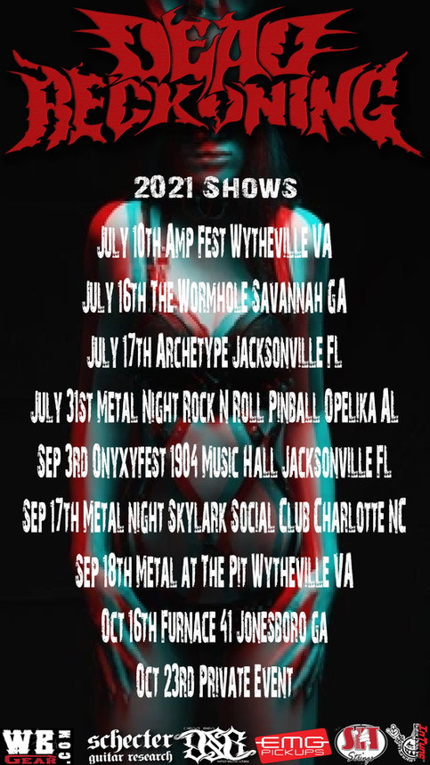 Updated Show Flyer!!!