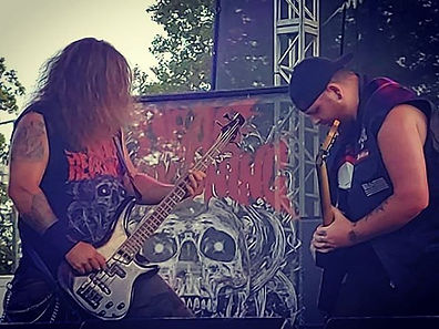 Brothers in metal! K-OS and Brayne throw