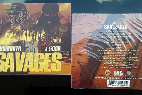 """Signed """"SAVAGES"""" Album with Yukmouth"""