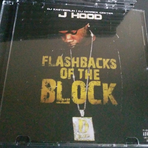 """SIGNED physical copy of The Best of J-Hood  """"Flash backs of the block """""""