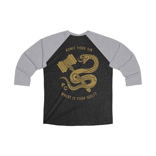 """Role Reversal"" 3/4 Sleeve Baseball Shirt"