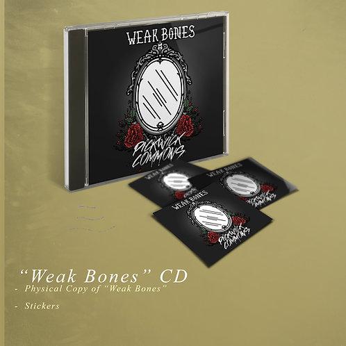 """""""Weak Bones"""" CD"""