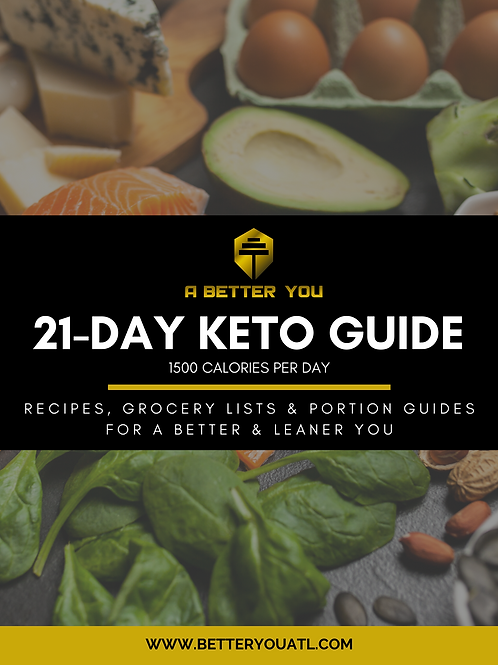 21-DAY KETOGENIC GUIDE (1500 Cal/day)