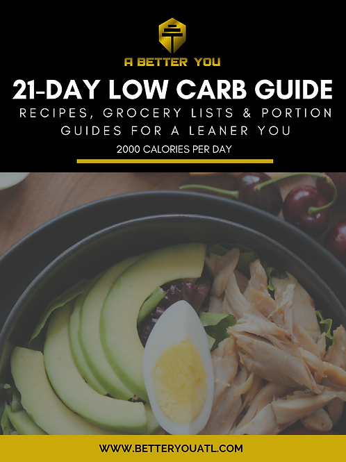 Black Low Carb Food Cover