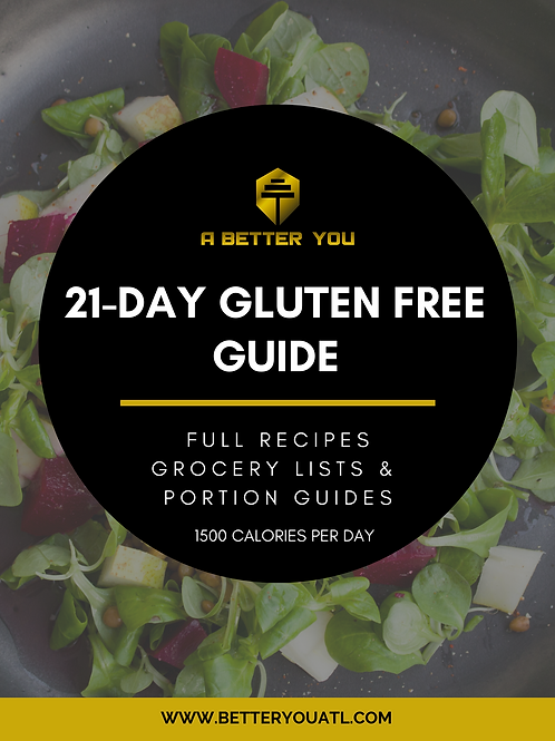 Black Gluten Free Food Cover