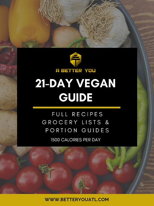 Black Vegan Food Guide Cover