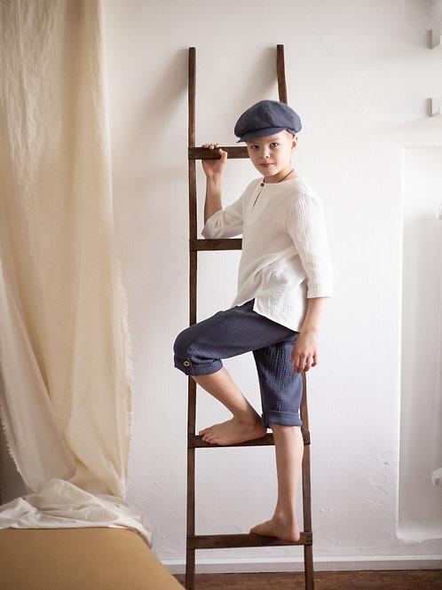 М20-11 Бриджи  для мальчика синий