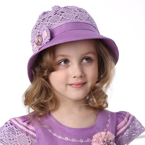 "Шляпа ""Каролина"" ГУ081 лаванда"