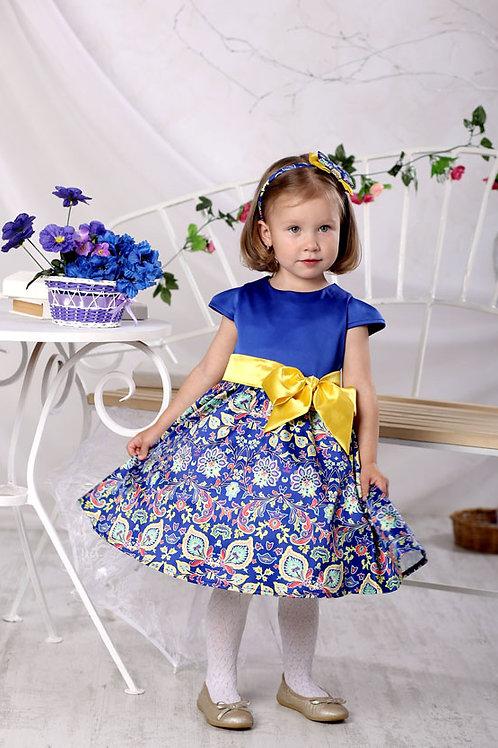платье для девочки Элли М-385 орнамент
