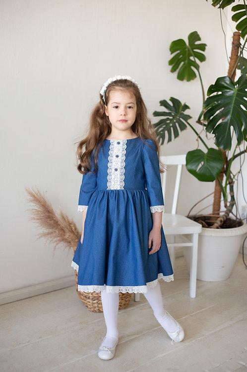 Платье  МТ21-1 джинс