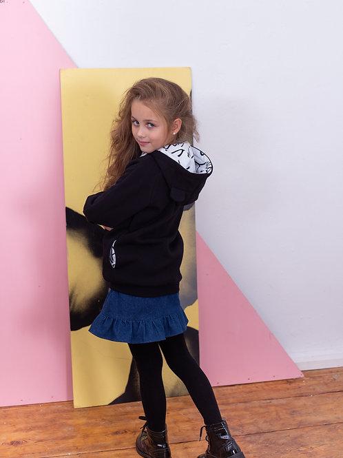 Юбка для девочки  Р19-6 джинс