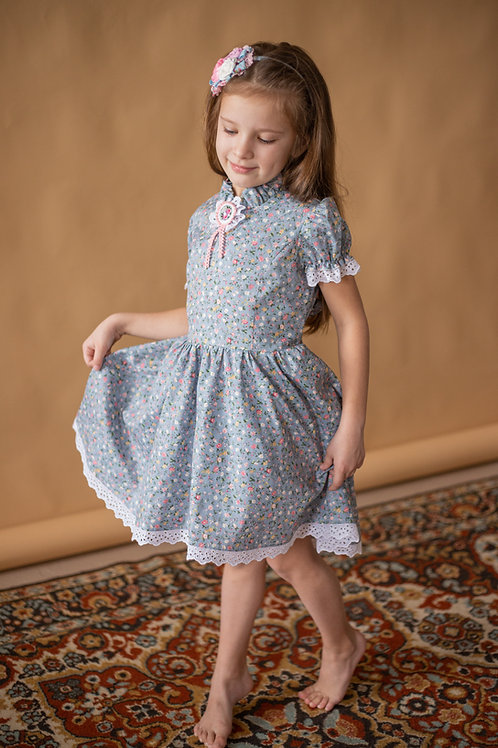 платье для девочки Л19-1 Розали полянка