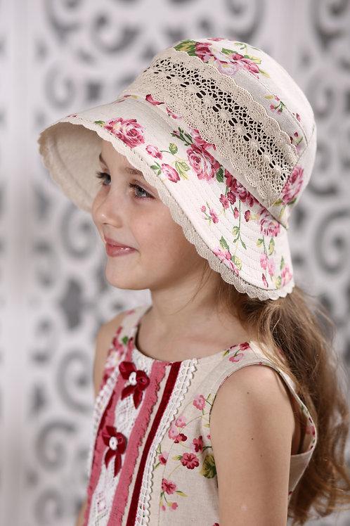 Шляпа Азалия ГУ18-1 розочки