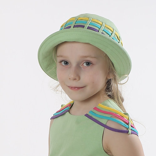 Шляпа Семицветик ГУ052 фисташка