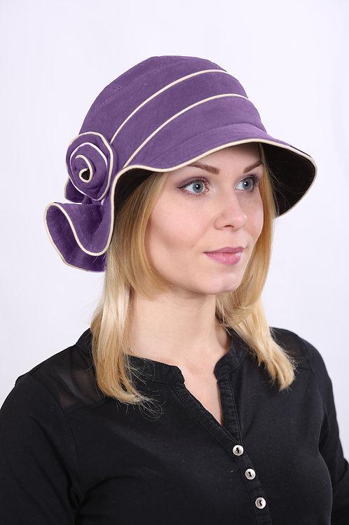 Шляпа женская РОЗА К0907  сирень