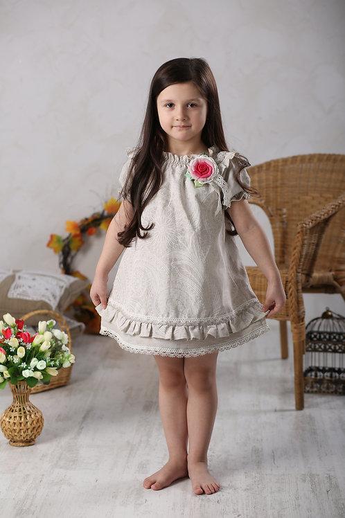 """платье для девочки М-283 """"Кнопка"""""""