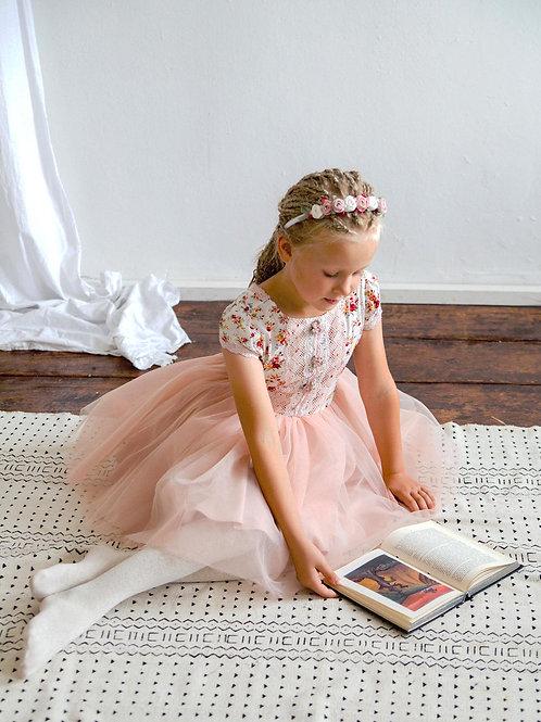 Платье для девочки Розали МТ 21-1 розочки