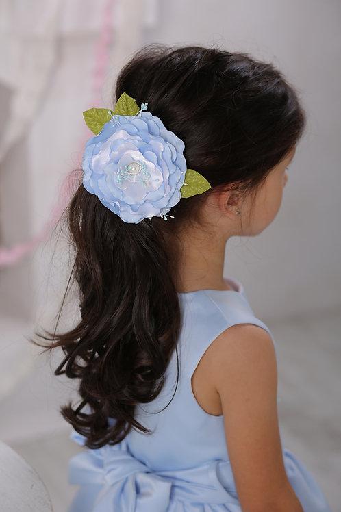 резинка для волос Милана голубой