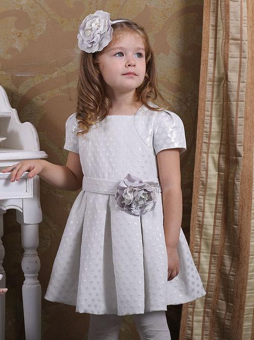 платье для девочки Дарина М-341 горох