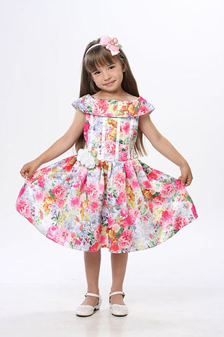 платье для девочки Эльза М-254