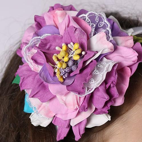 резинка для волос Адель цветы