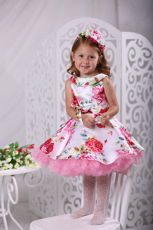 платье для девочки А17-1 Тутти розы