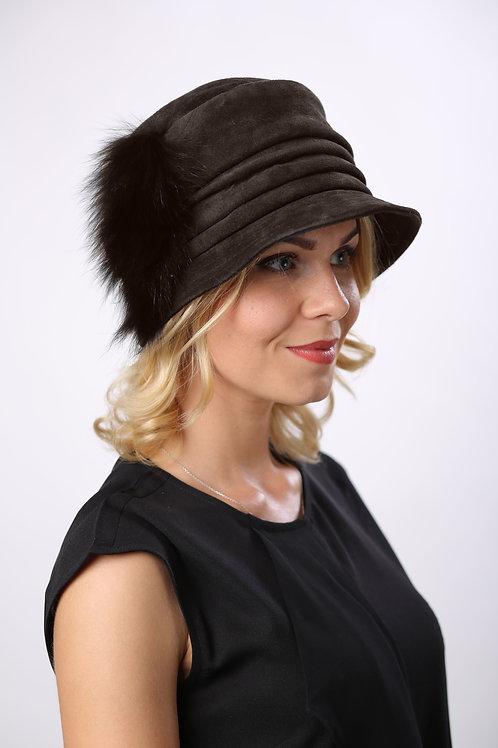 Шляпа женская КАСКАД КМ1603  коричневый