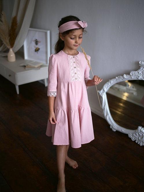 Платье  МТ20-5 роза винтаж