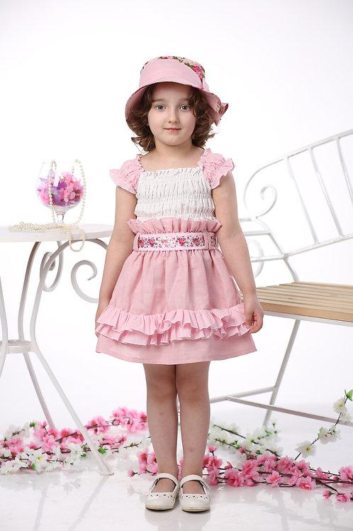 """платье для девочки М-420 """"Егоза"""" чайная роза"""
