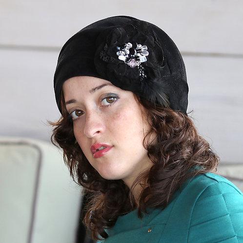 Шляпа женская РЕБЕККА  К1306 черный