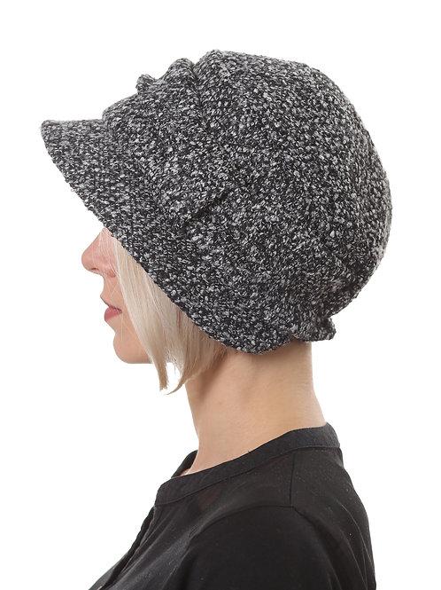 Шляпа женская РИГА  Д1904 черный меланж