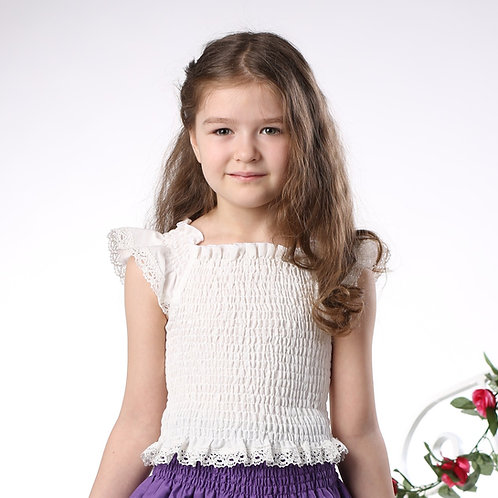 блуза для девочки М-242