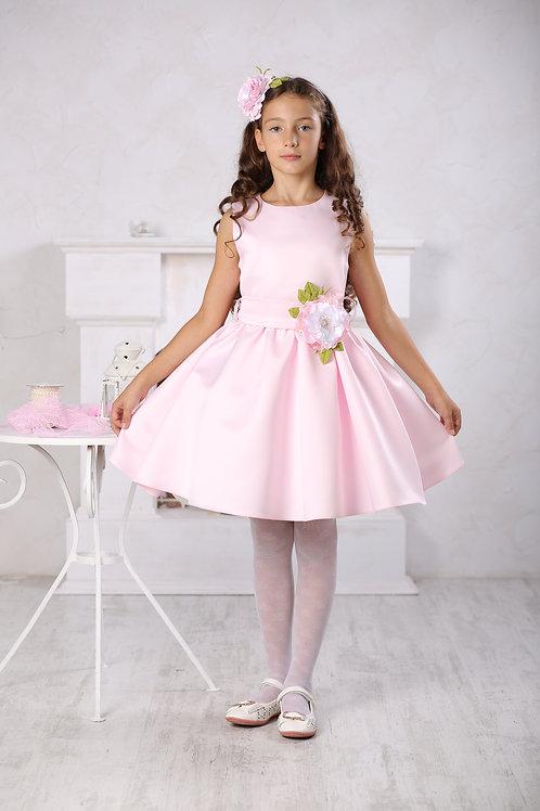 платье для девочки Милана М-257 розовый