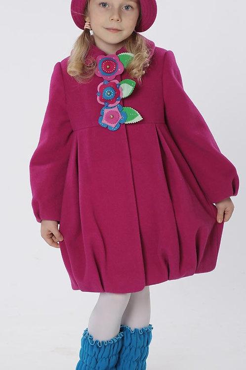 Пальто  детское  для девочки  Мила  М-266