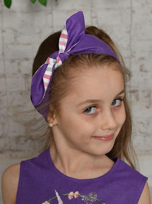 повязка Фенечка ГУ19-8 фиолетовый