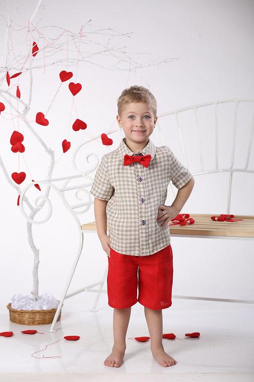 рубашка для мальчика Мажор Л16-10