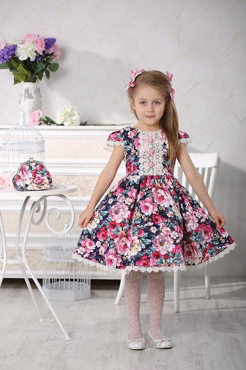 Платье МТ 16-4 пионы