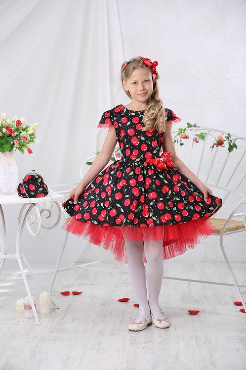 Платье  МТ 17-4 вишенка