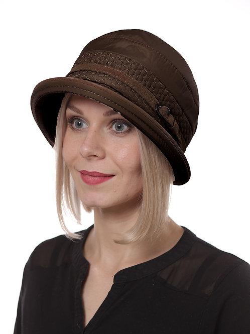 Шляпа женская ЯДВИГА   П098 коричневый
