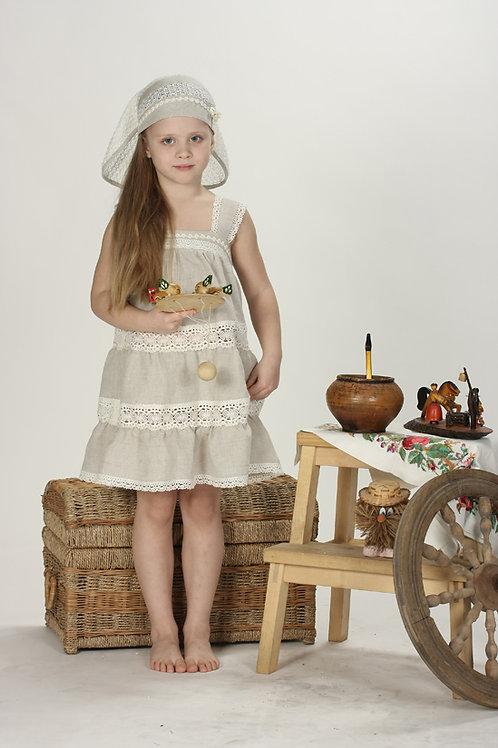 платье для девочки Матрешка М-201