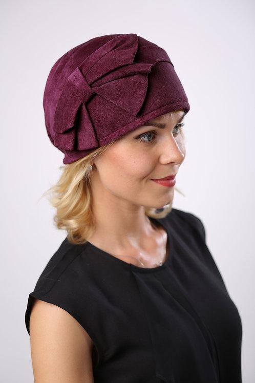 Шляпа женская РАШЕЛЬ К1407 бордовый