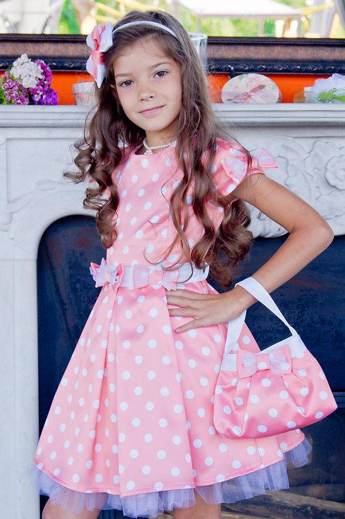 платье для девочки Бантики  М-311