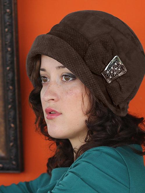 Шляпа женская МЭРИАН К1301 коричневый